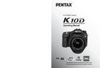 Manual do Usuário Pentax K10D