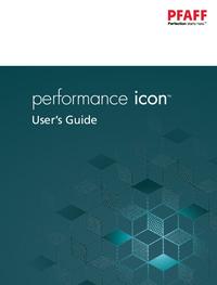 User Manual Pfaff performance icon