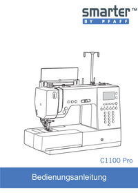 User Manual Pfaff C1100 Pro