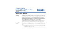 Manual de servicio Philips iU22