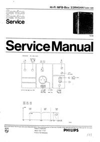 Serviceanleitung Philips 22RH544 00R