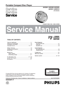 Service Manual Philips AX5311