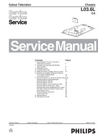 Service Manual Philips L03.6L CA