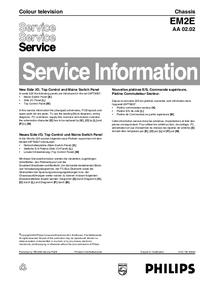 Erweiterung zur Serviceanleitung Philips EM2E AA 02.02