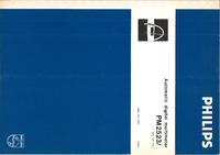 Servicio y Manual del usuario Philips PM 2523