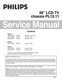Manual de servicio Philips PL13.11