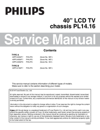 Service Manual Philips 40PFL4709/F7
