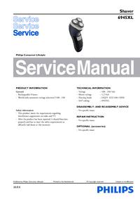 Serviceanleitung Philips 6945XL