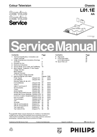 Service Manual Philips L01.1E AA