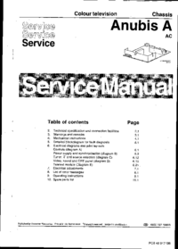 Servicehandboek Philips Anubis A