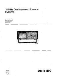 Manual de serviço Philips PM 3206