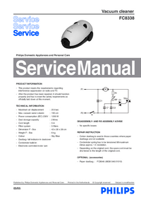 Service Manual Philips FC8338