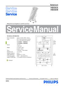 Serviceanleitung Philips HB556/A