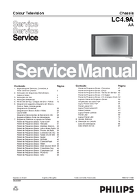 Service Manual Philips LC4.9A
