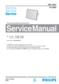 Manual de servicio Philips FC 8030