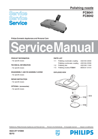Manual de servicio Philips FC8042