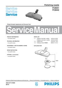 Manuale di servizio Philips FC8042