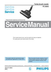 Servicehandboek Philips FC 8043