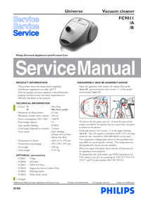 Service Manual Philips Universe FC9011