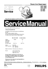 Service Manual Philips HI904