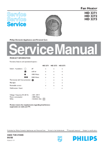 Service Manual Philips HD 3271