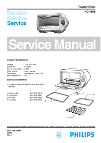 Service Manual Philips HD 4458
