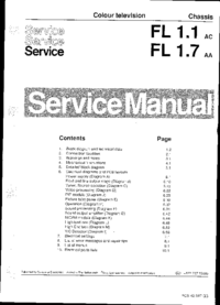 Service Manual Philips Chassis FL1.7