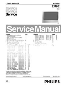 Manual de servicio Philips Chassis EM8E
