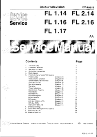 Service Manual Philips Chassis FL 1.14