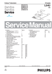 Manual de servicio Philips 28PW6542/78