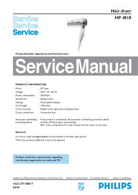 Philips-3154-Manual-Page-1-Picture