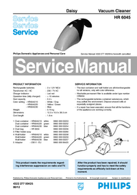Service Manual Philips Daisy HR 6045