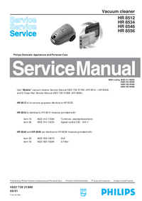 Service Manual Philips HR 8556