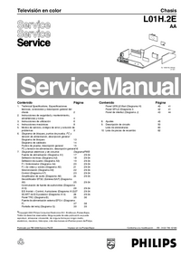 Service Manual Philips Chassis L01H.2E