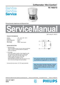 Servicehandboek Philips Mini Comfort