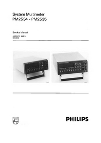 Serviceanleitung Philips PM2535