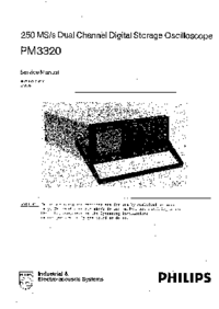 Service Manual Philips PM3320