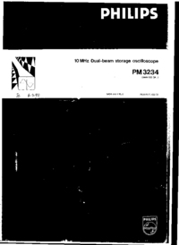 Service Manual Philips PM3234