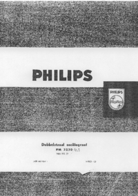 Service and User Manual Philips PM3230