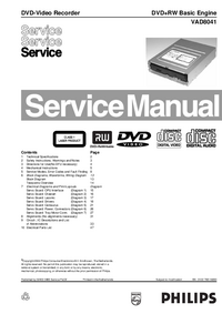 Manual de servicio Philips VAD8041