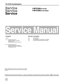 Manual de servicio Philips 14PV365