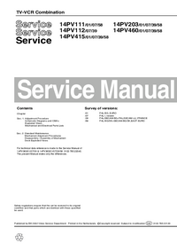 Service Manual Philips 14PV460