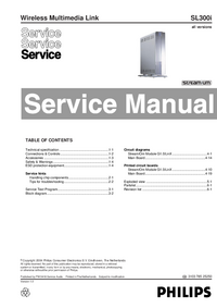 Manual de servicio Philips SL300i