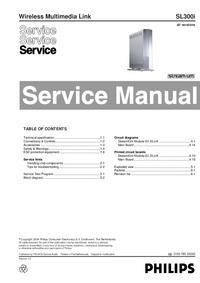 manuel de réparation Philips SL300i