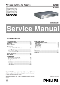 Serviceanleitung Philips SL400i