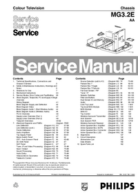 Service Manual Philips MG3.2E AA