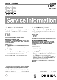 Service Manual Supplement Philips EM2E AA 02.01