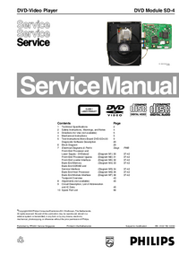 Service Manual Philips DVD Module SD-4