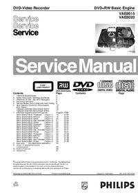 Serviceanleitung Philips VAE8015