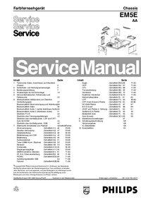 Manual de servicio Philips AA